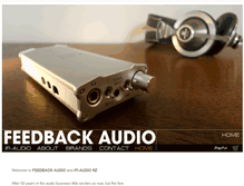 Tablet Preview of feedbackaudio.co.nz